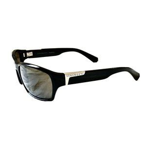 Mens Serengeti Gio Black Sunglasses 7244 Polarized
